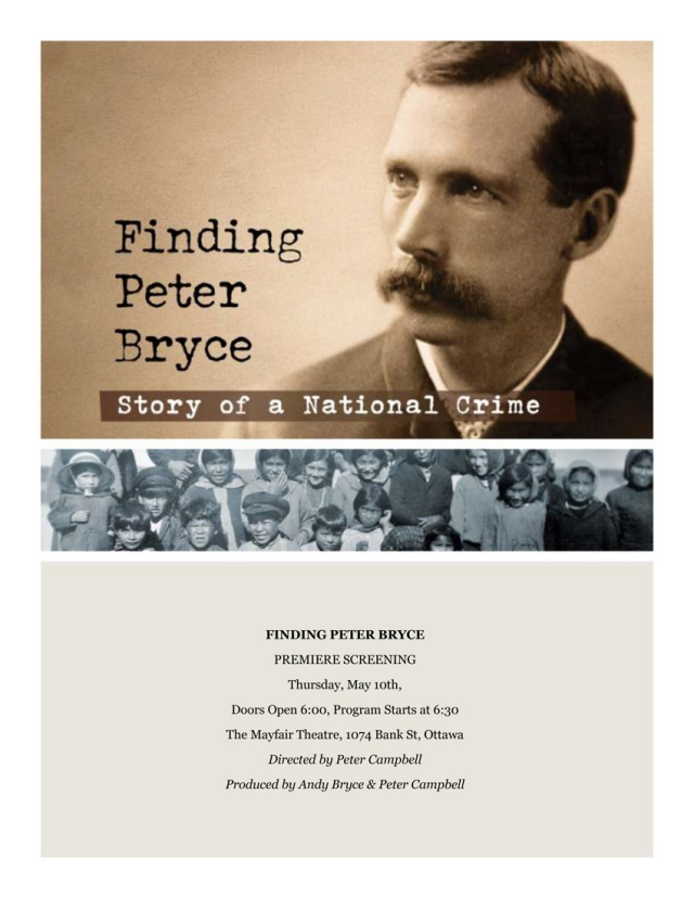 Finding Peter Bryce ~ 6 pm good Announcement copy